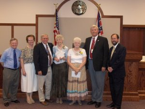 Ottawa County Elected Officials attend retirement reception for Victim's Advocates Barbe Limpert and Roseann Martin